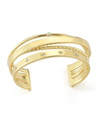 Cosmic Stacked Cuff Bracelet Gold Elizabeth And James