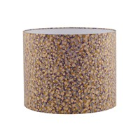 Clarissa Hulse Garland Lampshade Storm Grape Mustard 31X24cm
