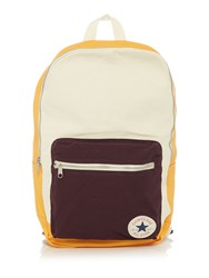 Converse Core Plus Stripe Backpack White