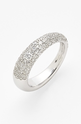 Kwiat 'Cobblestone' Pave Diamond Band Ring White Gold