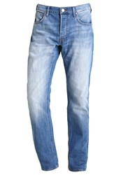 Lee Daren Slim Fit Jeans Worn In Blue Denim