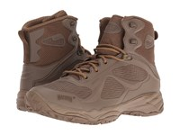 Magnum Opus Mid Coyote Men's Work Boots Silver
