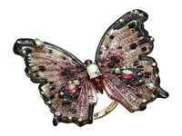 Betsey Johnson Pink Butterfly Statement Ring Pink Ring