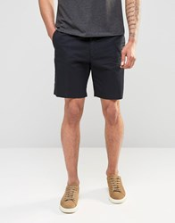 Penfield Chino Shorts In Black Black