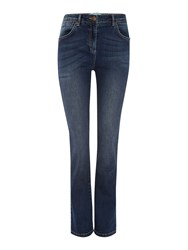 Dickins And Jones Kensington Bootcut Leg Jeans Denim Indigo