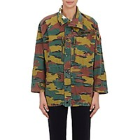 Icons Women's Belgium Field Jacket Green
