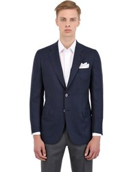 Brioni Lightweight Wool Hopsack Slim Jacket