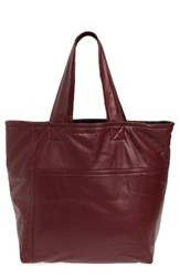 Victoria Beckham Sunday Bag Red Ebony