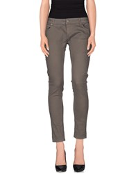 Vicolo Denim Denim Trousers Women Grey