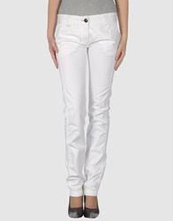 One Seven Two Casual Pants Ivory