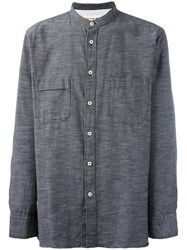 Universal Works 'Stoke' Shirt Blue