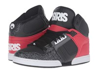 Osiris Nyc83 Black White Grey Men's Skate Shoes