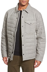 Relwen Quilted Field Jacket Light Grey Heather