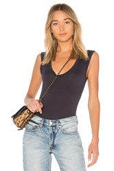 Velvet By Graham And Spencer Estina Tank Navy