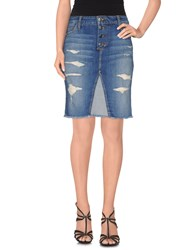 Joe's Jeans Denim Denim Skirts Women Blue