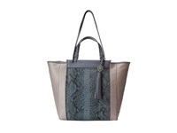 Rafe New York Joey Tote Silver Metallic Tote Handbags
