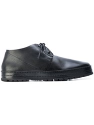 Marsell Chunky Sole Boots Men Leather Rubber 41 Black
