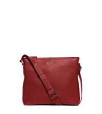 Michael Kors Bryant Small Leather Crossbody Cinnabar