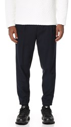 Mcq By Alexander Mcqueen Hybrid Ash Trousers Deep Navy