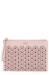 Kate Spade New York Cameron Street Bella Leather Pouch Pink Pink Sunset