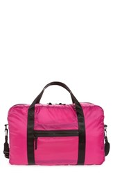 Nordstrom Packable Nylon Duffel Bag Pink Pink Berry