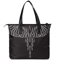 Marcelo Burlon Asier Shopper Bag Black
