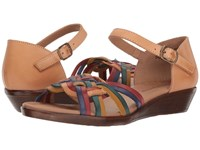 Comfortiva Fortune Natural Multi Wedge Shoes