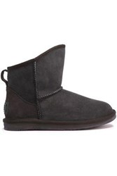 Australia Luxe Collective Shearling Ankle Boots Chocolate
