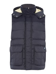 Puffa Men's Hill Gilet Navy