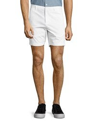 Highline Collective Pindot Chino Shorts White