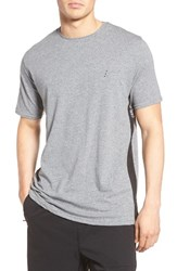 Zanerobe Men's Flintlock Mesh Side T Shirt Grey