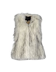 Unreal Fur Coats And Jackets Faux Furs Women Ivory