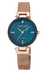 Anne Klein 'S Mesh Strap Watch 30Mm