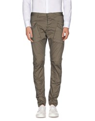 N 4 Four Trousers Casual Trousers Men Military Green