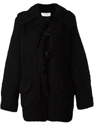 Chloe Oversized Cardi Coat Black