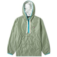 Acne Studios Osaze Half Zip Jacket Green