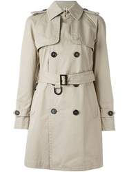 Dsquared2 Classic Trench Coat Nude And Neutrals
