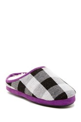 Isaac Mizrahi Bryce Faux Fur Slipper Purple