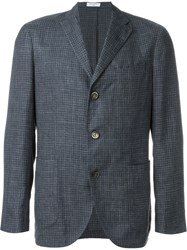 Boglioli Plaid Sport Jacket Blue