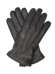 Burberry Oscar Fur Lined Leather Gloves