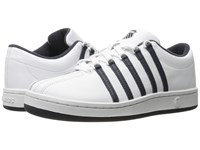 K Swiss The Classic White Blue Nights Women's Tennis Shoes