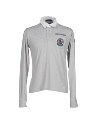 North Sails Polo Shirts Light Grey