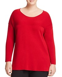 Marina Rinaldi Amalia Wool Sweater Red