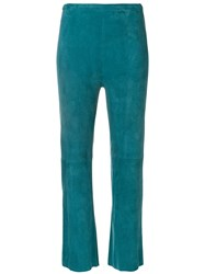 Stouls Atoll Blue Flared Trousers