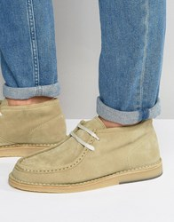 Selected Homme Ronni Suede Chukka Boots Sand Stone