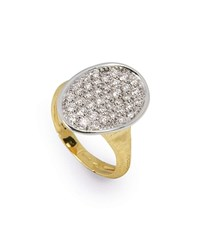 Marco Bicego 18K Diamond Pave Ring