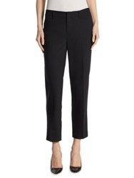 Saks Fifth Avenue Collection Zip Front Ankle Trouser Black