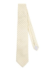 Boss Black Accessories Ties Men Light Yellow