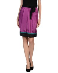 Philosophy Di Alberta Ferretti Skirts Knee Length Skirts Women Fuchsia
