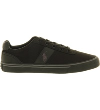 Ralph Lauren Hanford Trainers Black Charcoal Black